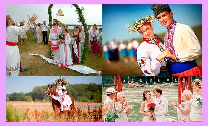 Славянское оформленеи свадьбы