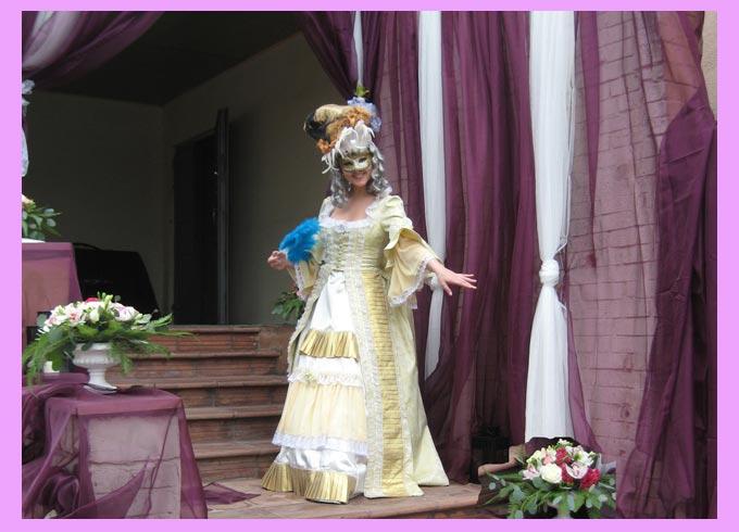 Встречающий на свадьбе