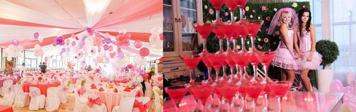 Свадебный декор в стиле барби