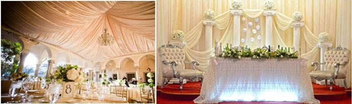Свадебный декор ампир стиль