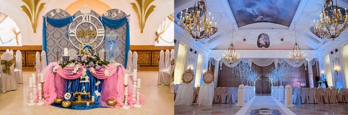 Свадебный декор в стиле Золушка