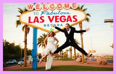 Лас Вегас и молодожены