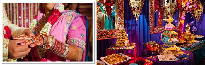 Восточный стиль для свадьбы