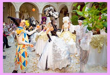 Свадебный бал карнавал