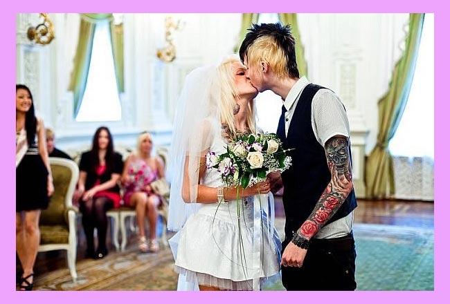 Панк-рок свадьба