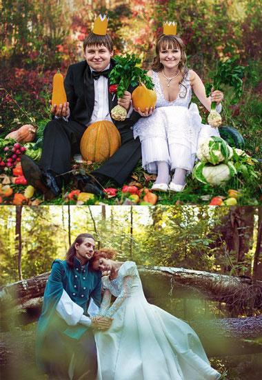 Выбор сказки на свадьбу