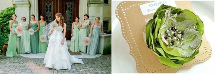 Невеста с подружками и приглашения на свадьбу
