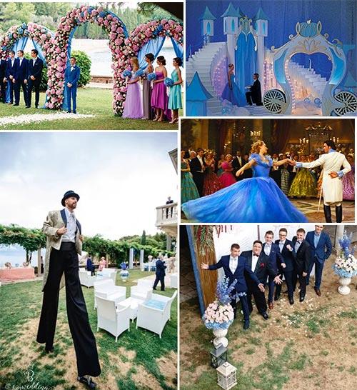 Сюжеты свадьбы Золушка