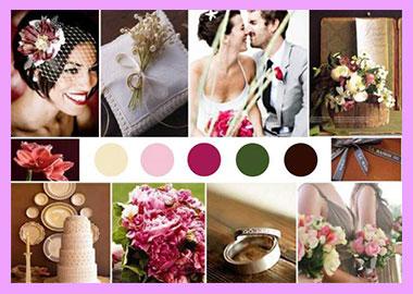 Цвета для свадьбы
