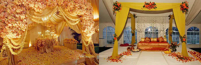 Палитра восточной свадьбы