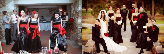 Наряды гостей на испанской свадьбе