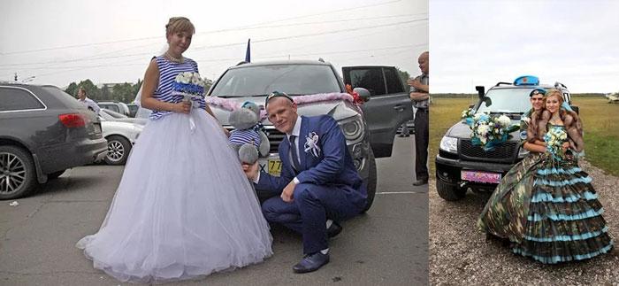 Свадебный транспорт ВДВ