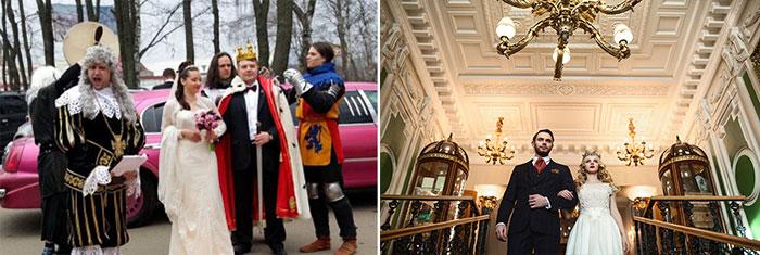 Замки для прооведения корелевской свадьбы