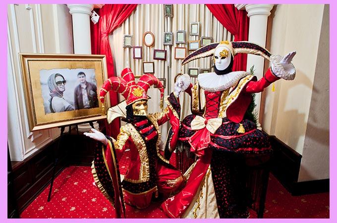 шуты волшебники на свадьбе в стиле карнавал