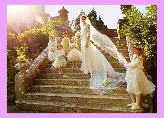Невеста в английском стиле