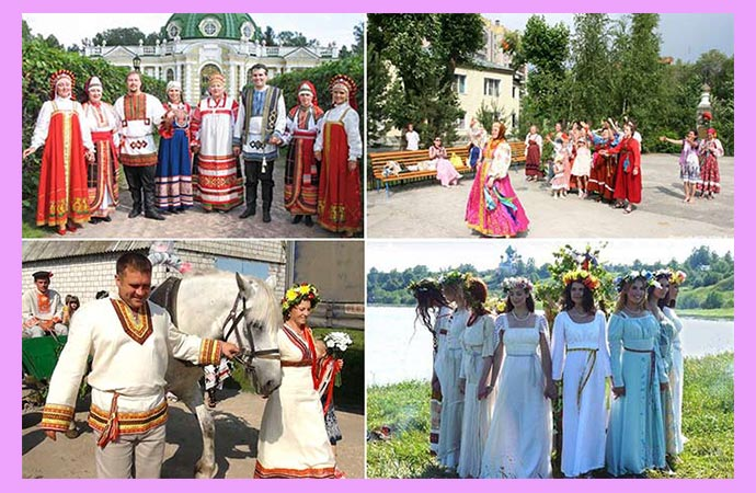 Свадьба в славянском стиле- идеи оформления, советы по организации