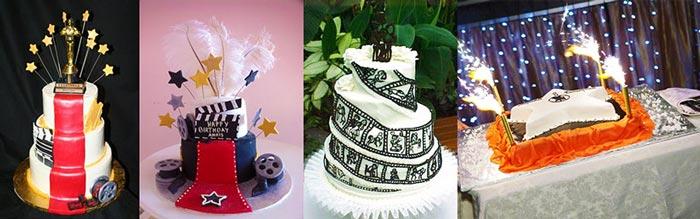 свадебный торт в стиле голливуд