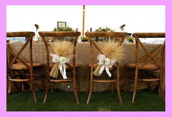 Свадебный декор в стиле кантри