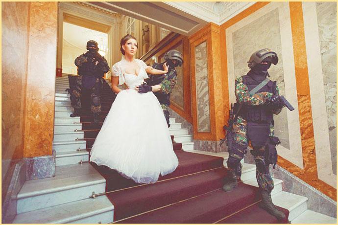 Варианты кражи невесты с омоном
