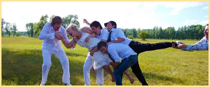 Веселая каржа невесты