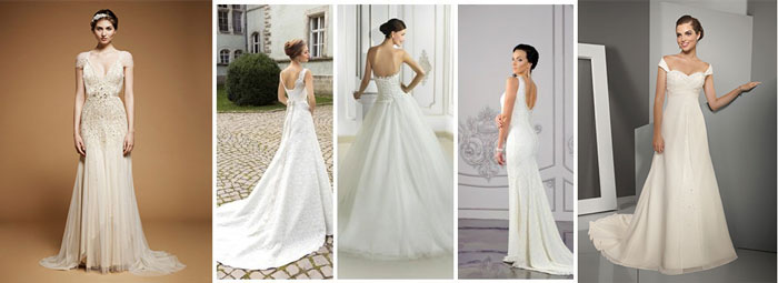 Свадебные платья до пола