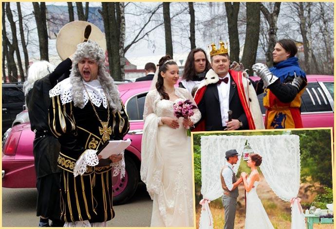 Свадьба в стиле рустик или дворян