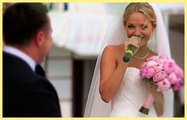 Тост невесты на свадьбе