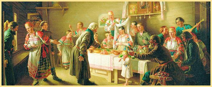 Картина русского сватовства