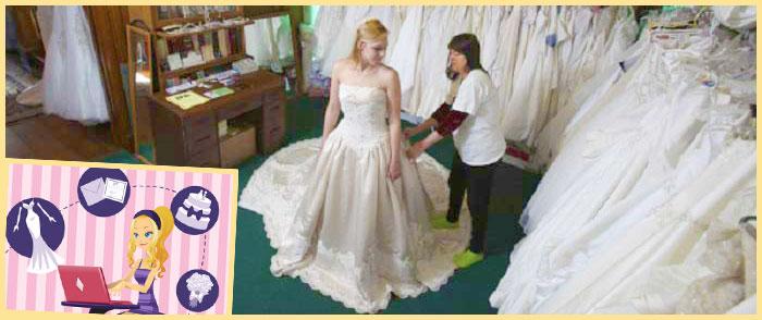 Примерка плятья невестой и другие дела
