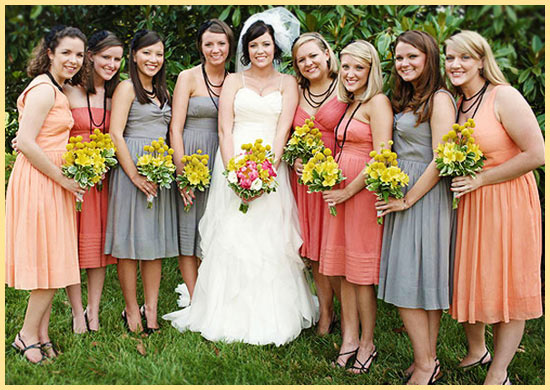 Невеста и стильные подруги