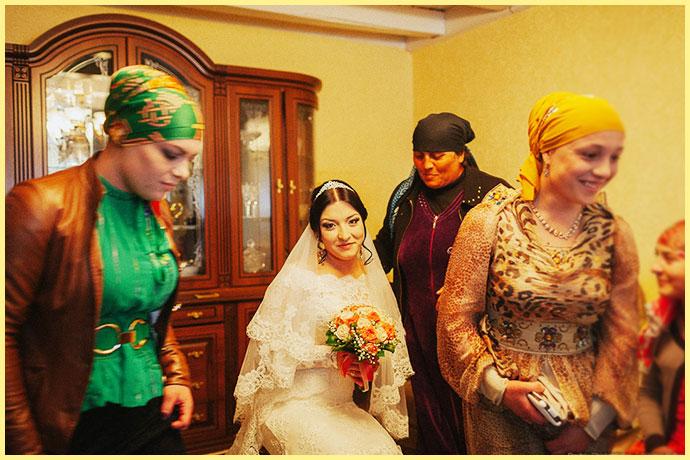 Сборы и прощание с невестой дагестанской