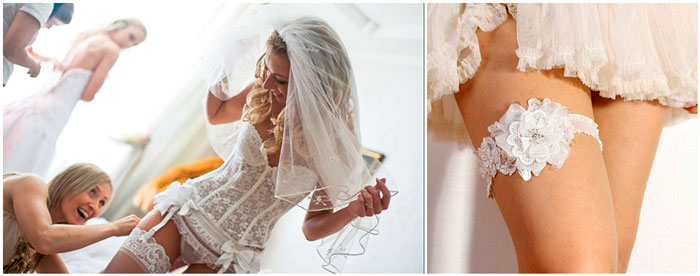 Невеста и нижнее белье