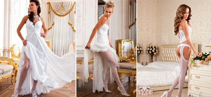 Невеста и свадебное белье