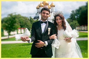 Молодожены езидская свадьба