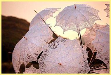 Кружевные зонтики