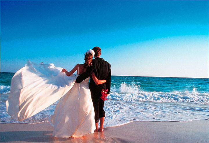 провести медовый месяц на острове