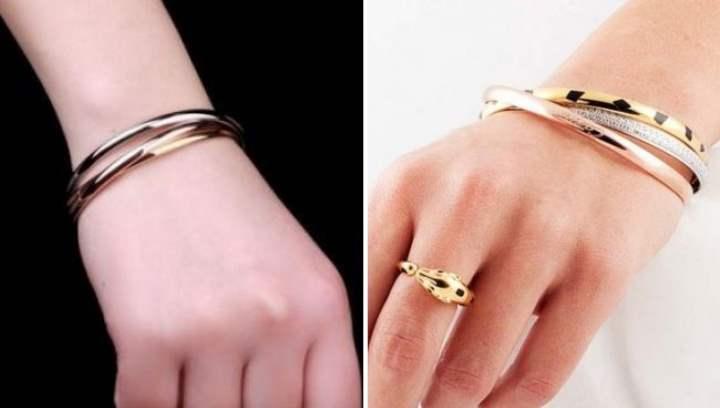 Набор кольцо и браслет