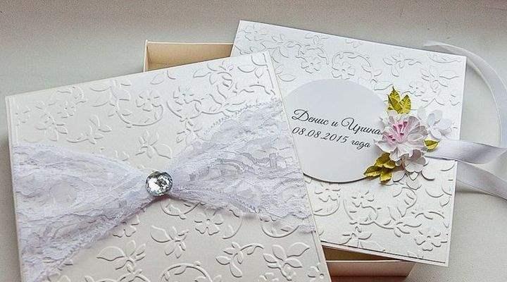 Кружевной конверт