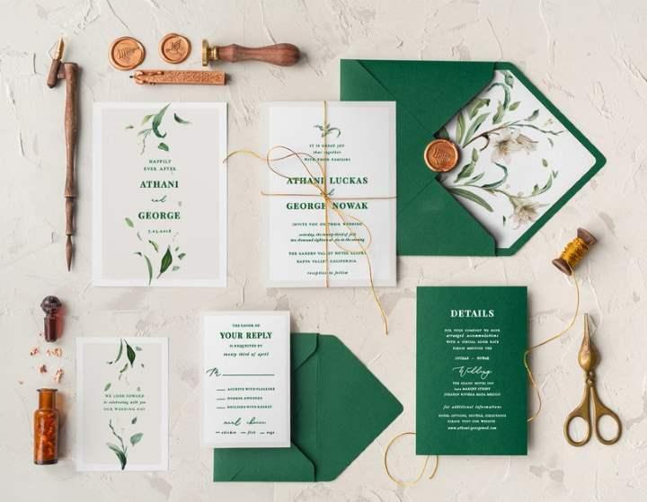 Зеленые конверты