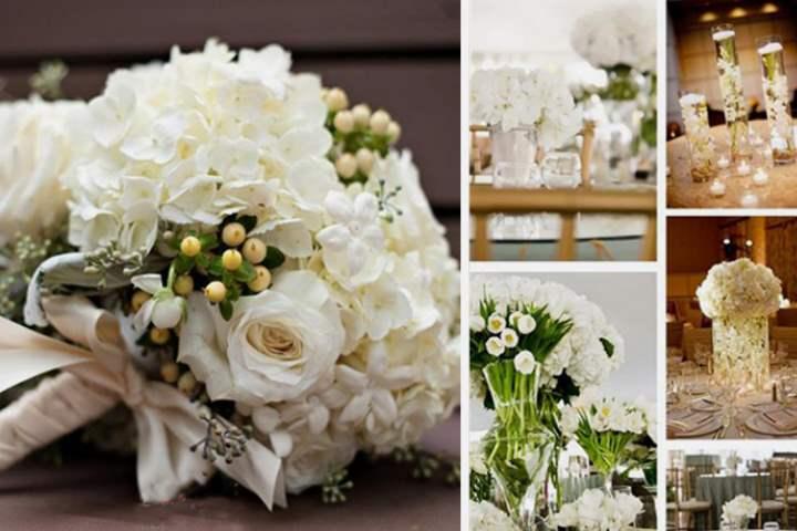 В белом стиле оформление свадьбы