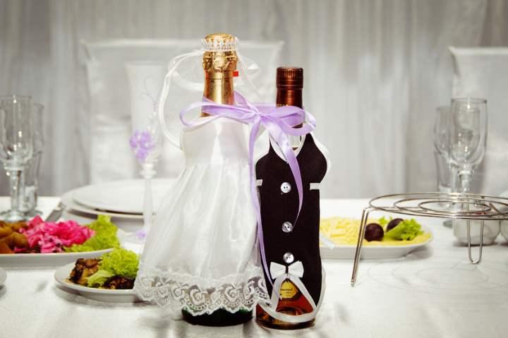 Нарядные бутылки