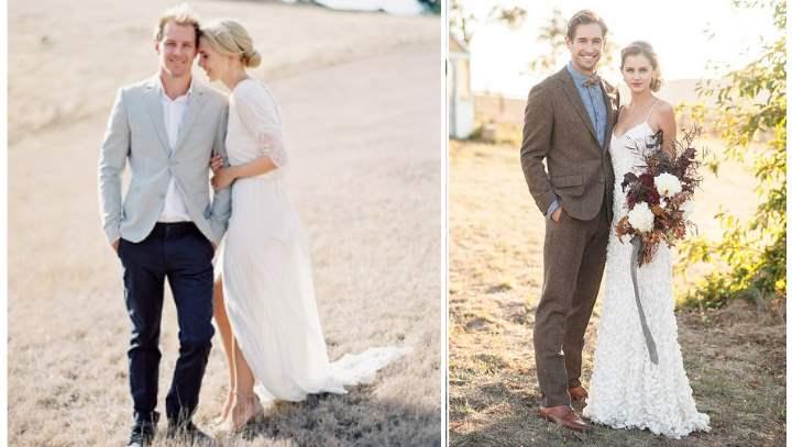 Пара для свадебного торжества