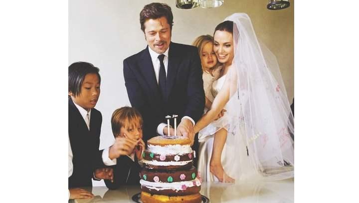 Все предполагали, что свадьбы самой красивой голливудской пары будет сказочной