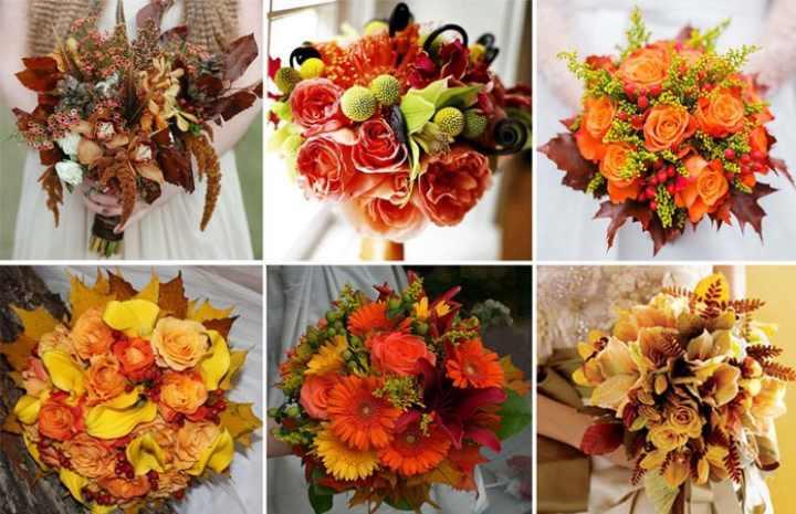 Выбирая цветы для осенней композиции