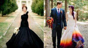 Каждая невеста хочет быть самой красивой в такой день. Выбор свадебного платья может обернуться очень смелым и неординарным решением.