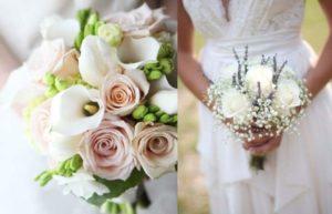 В связи с этим в настоящее время наиболее подходящим и популярным вариантом считается красивые маленькие свадебные букеты.