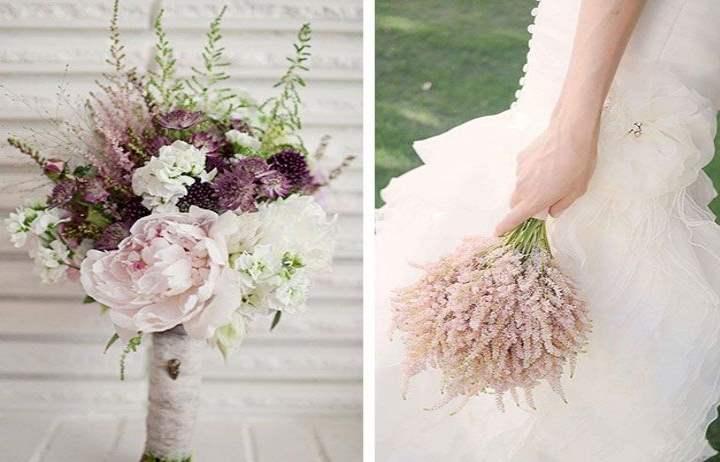 Выбор цветовой палитры для свадебного букета