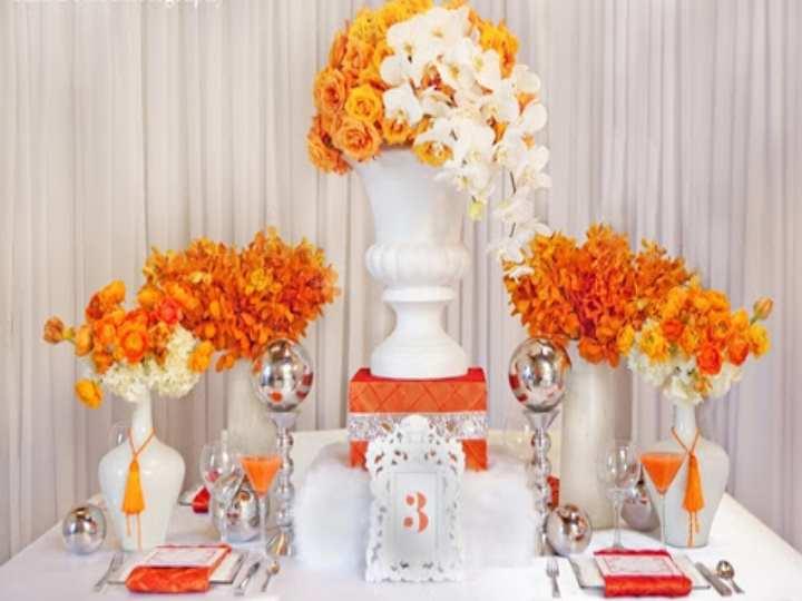 На востоке оранжевый цвет считается символом счастья