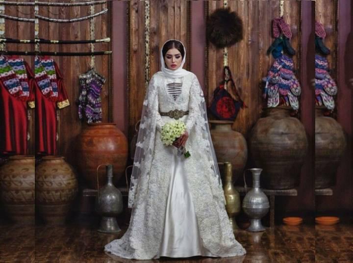 Голова невесты должна быть покрыта фатой