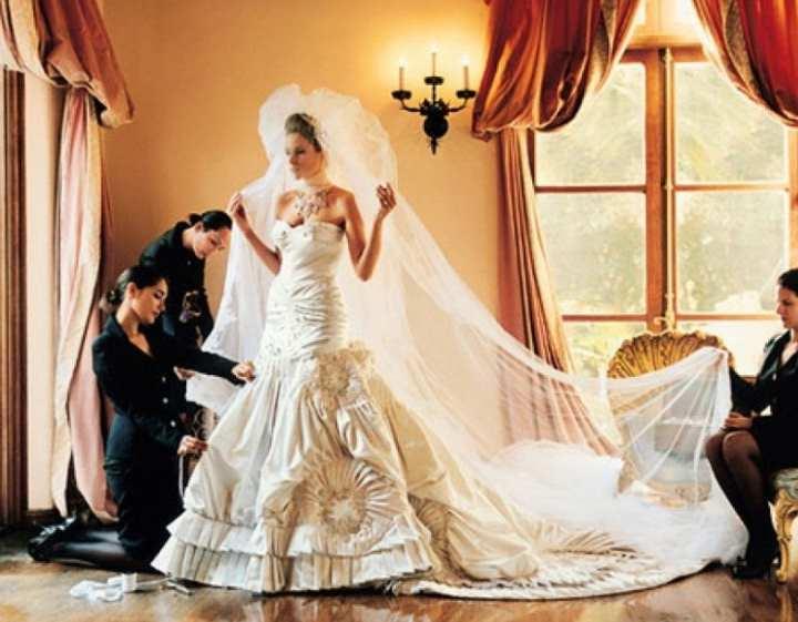 Свадебное торжество было организовано в одном из самых романтических городов мира